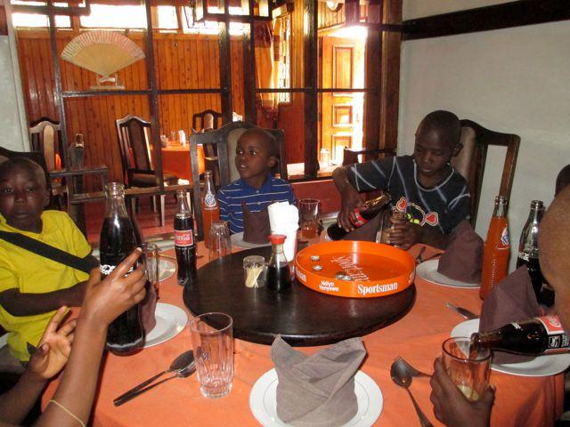 Left to Right: Ayubu, Joshua, Baraka