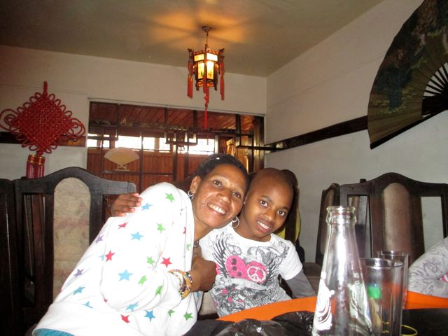 Mwajabu and Jacqueline